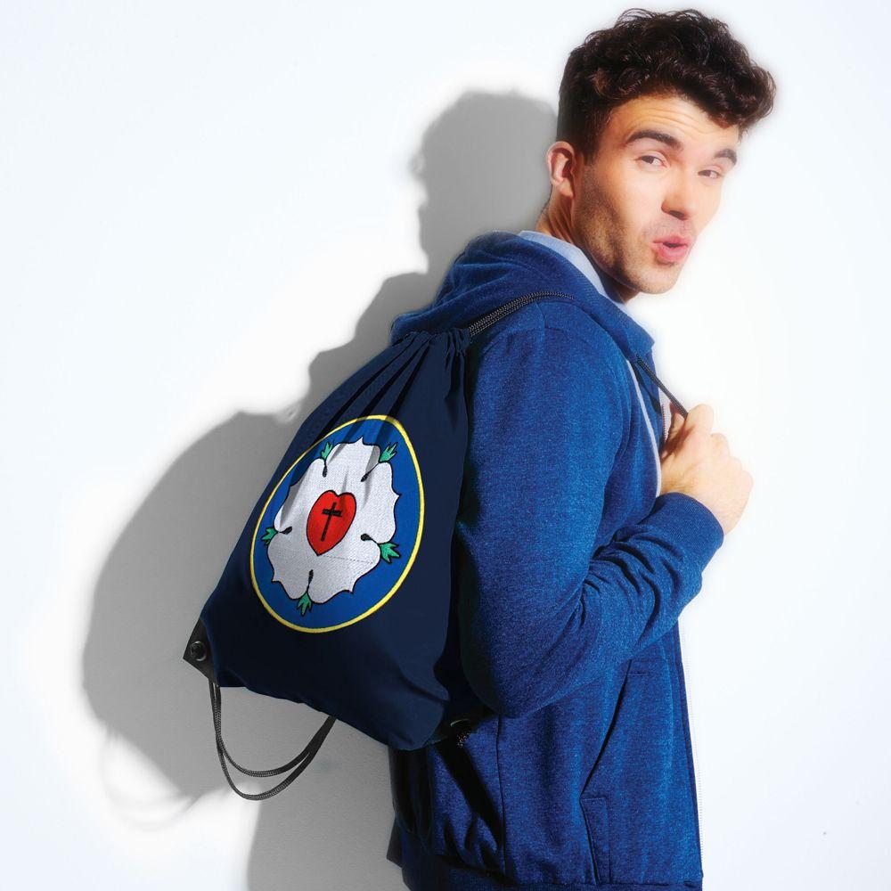 Trend-Bag, Rucksack, Sportbeutel mit Aufdruck Luther-Rose