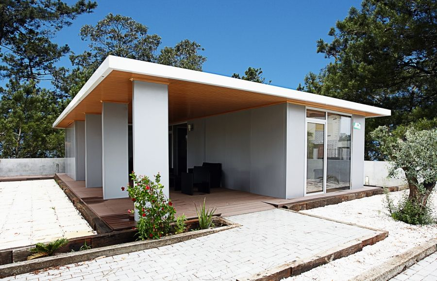 casas pre.fabricadas modulares. O projeto FazaTuaCasa