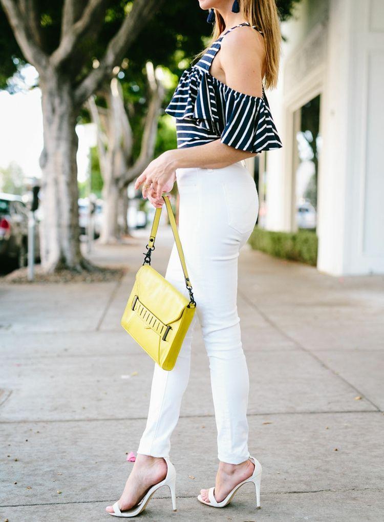 #Weiße #Jeans kombinieren - Ideen, #Tipps und 25+ Outfits ...