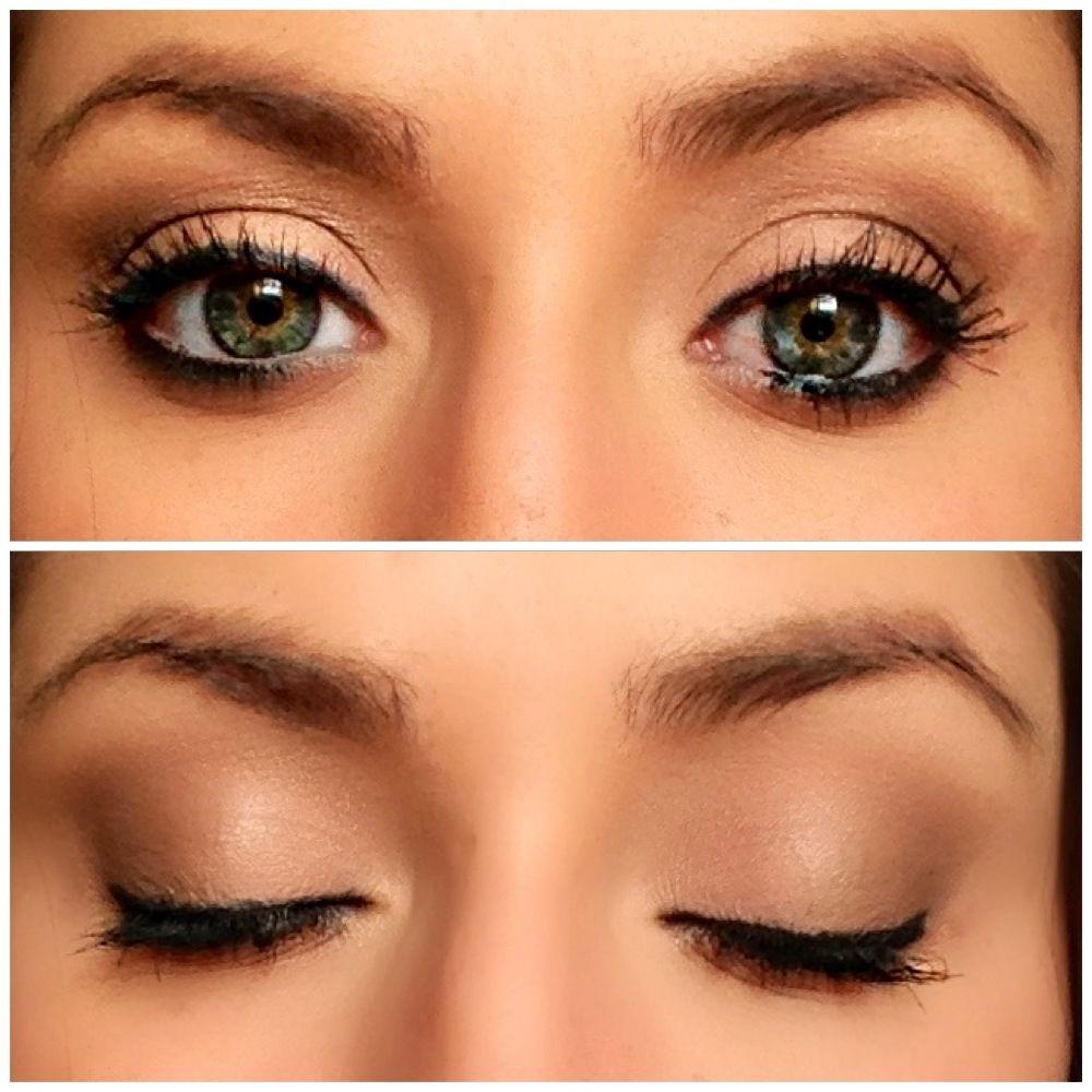 Natural eye make up look. Best for green eyes! Makeup