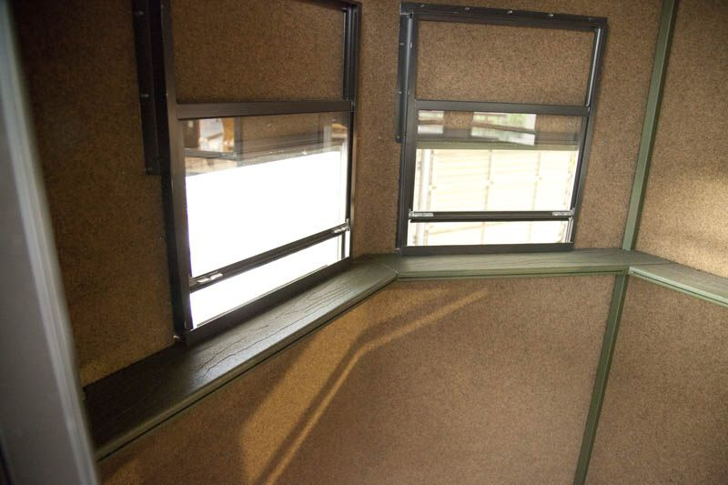 Overall About Deer Blind Windows Interior Design Ideas Deer