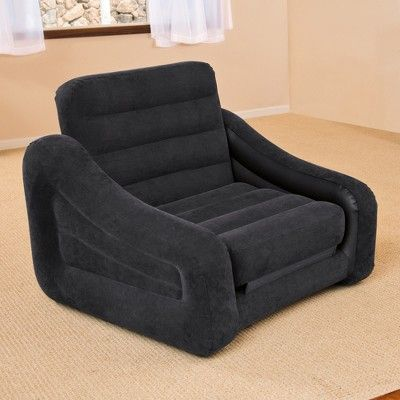 Brilliant Intex 68565Ep Inflatable Pull Out Sofa Chair And Twin Bed Alphanode Cool Chair Designs And Ideas Alphanodeonline