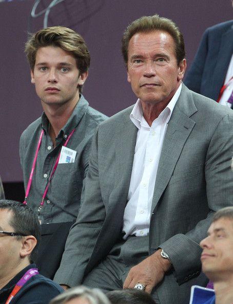 patrick son Arnold schwarzenegger