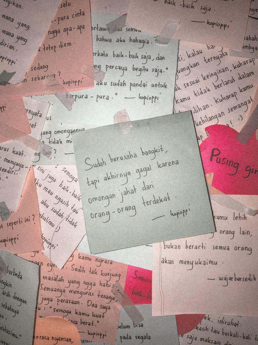 Pin Oleh Yoan Stephany Audrey Di Tulisan Tangan Kopioppi Di 2020 Buku Remaja Kutipan Pelajaran Hidup Motivasi