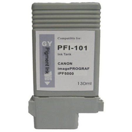 Universal Inkjet Compatible Cartridge for Canon PFI-101GY