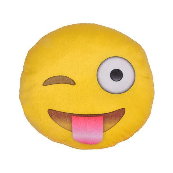 Almofada Emoji Careta - 40 x 40 x 6 cm
