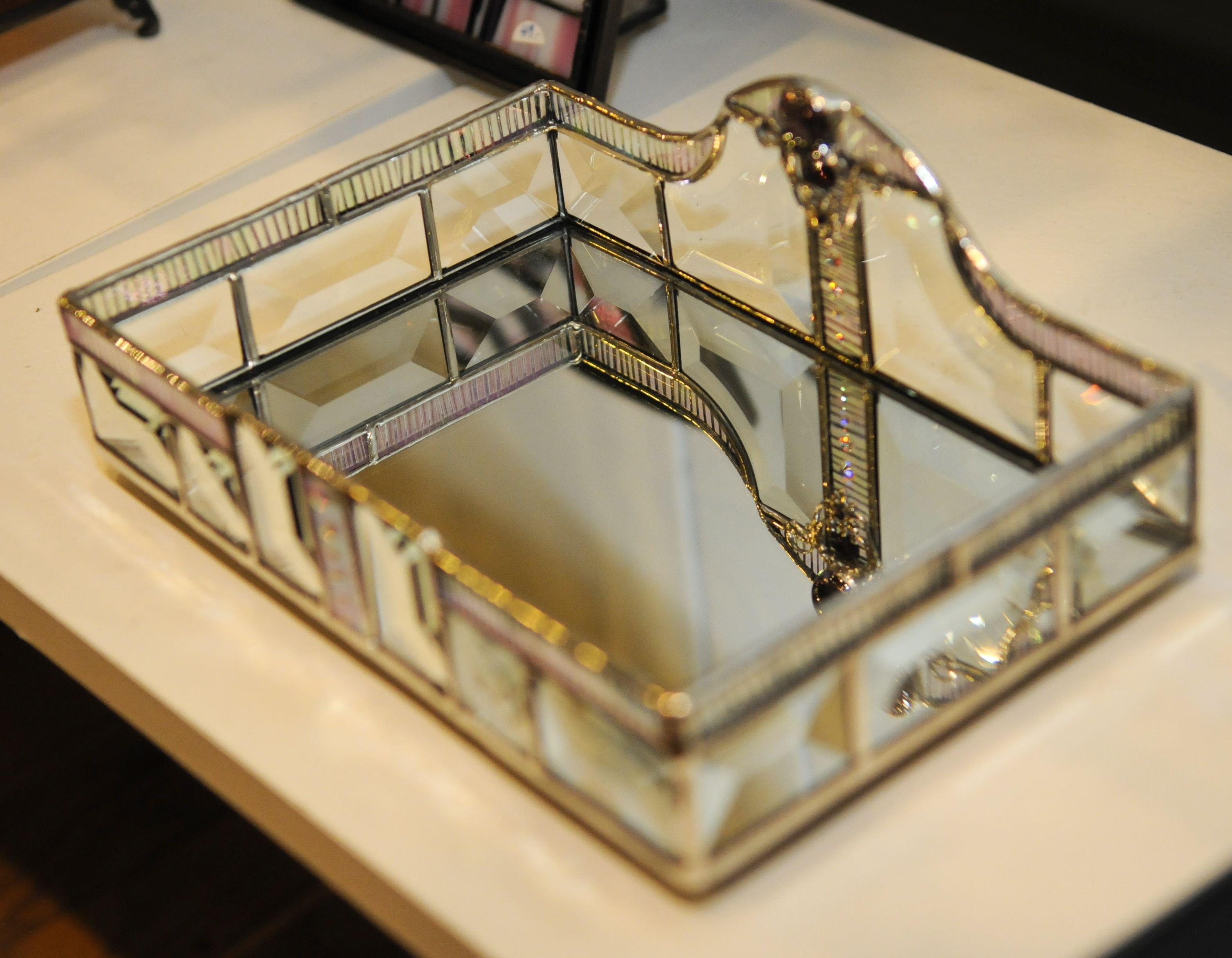 Glass Tray By Ellen Turner At The Yes Store In Santa Barbara