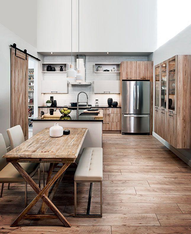 Une cuisine au style moderne et industriel