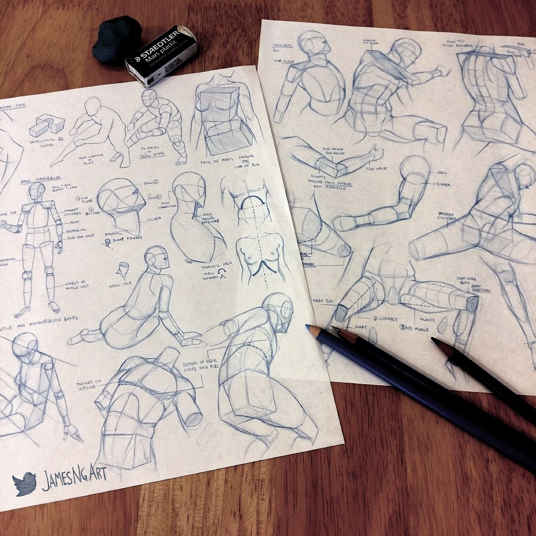 Illustrations by in 2019   Art Charts   Human figure drawing, Figure