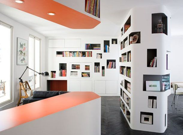 Unusual Bookcase Design Ideas