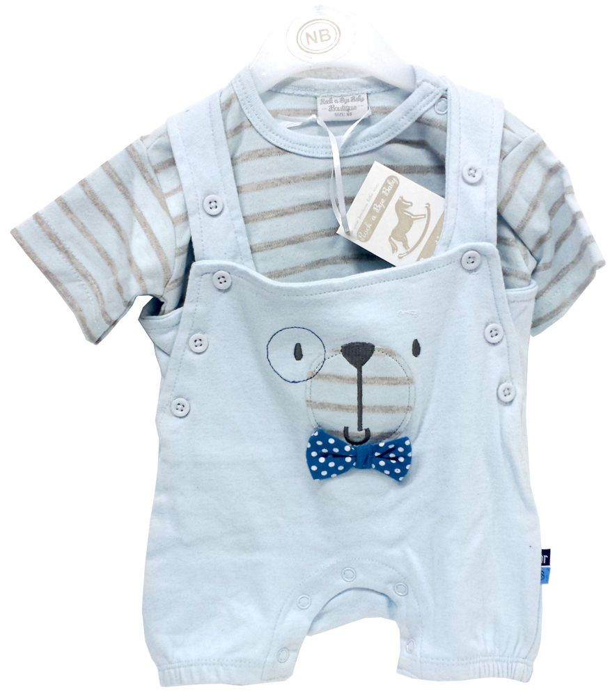 Premature Baby Clothes Boys 2 Pieces Set with Hat Mummy/'s Little Star sky blue