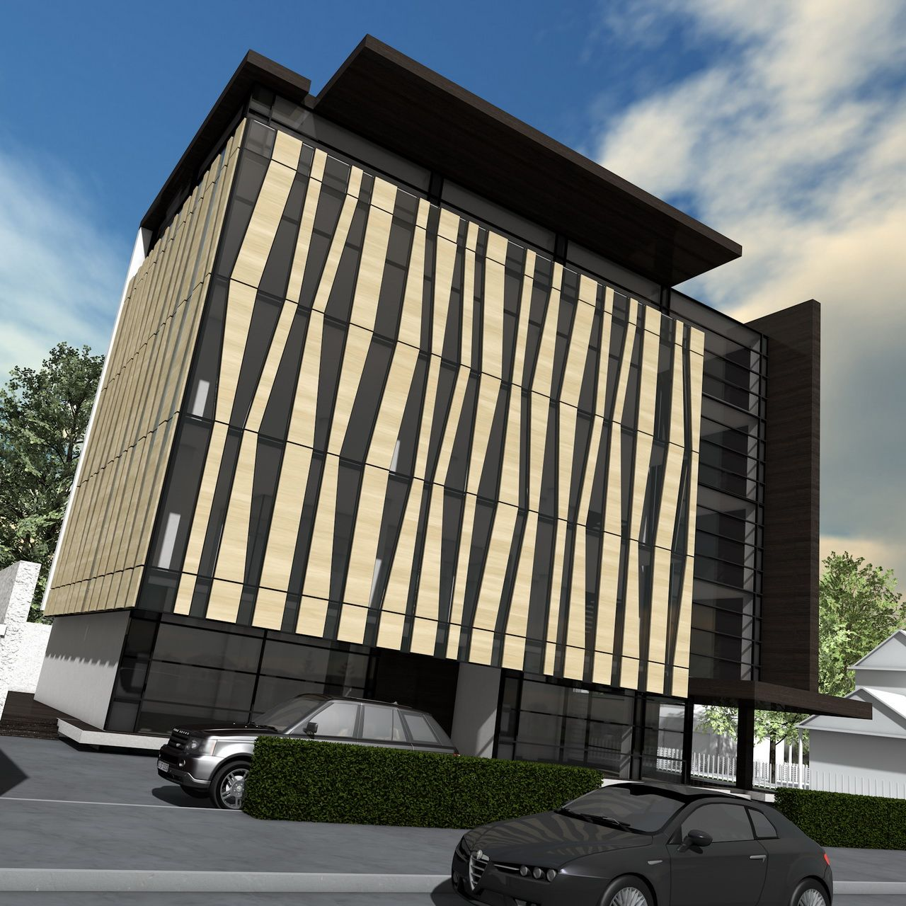 Corporate Building Design: Small Office Building - PIPERA
