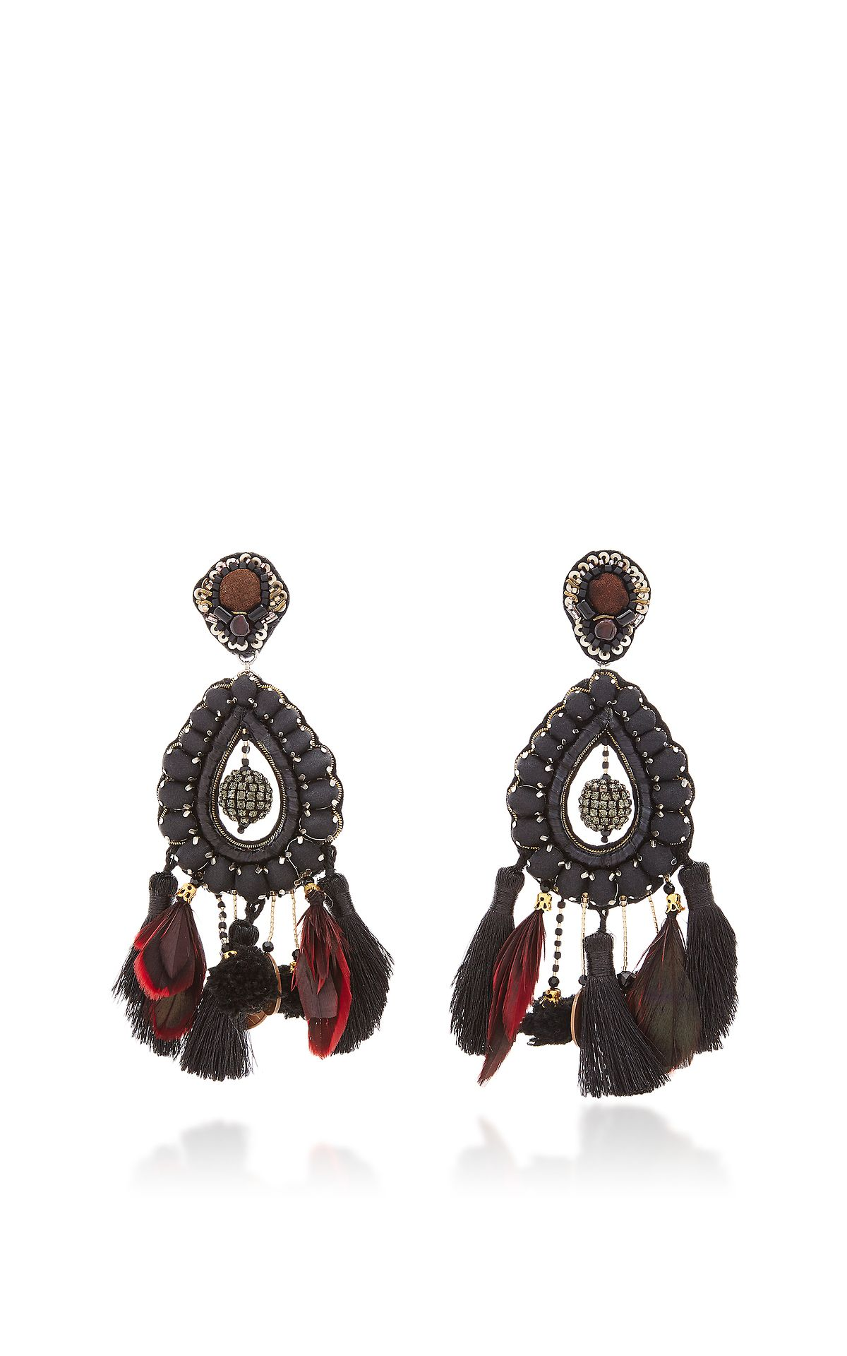 https://www.modaoperandi.com/ranjana-khan-fw17/black-teardrop-earrings?size=OS ☆ https://es.pinterest.com/iolandapujol/pins/ ☆ insta: @ iola_pujol / @iolastyle