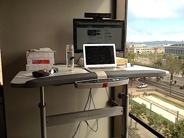 Walk At Work Treadmill Desk Could Make You Envy Of The