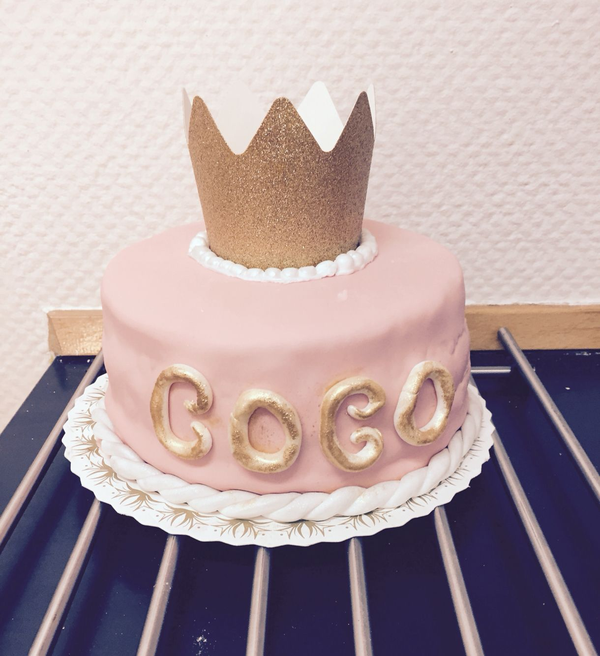 Cocos prinsesse kage