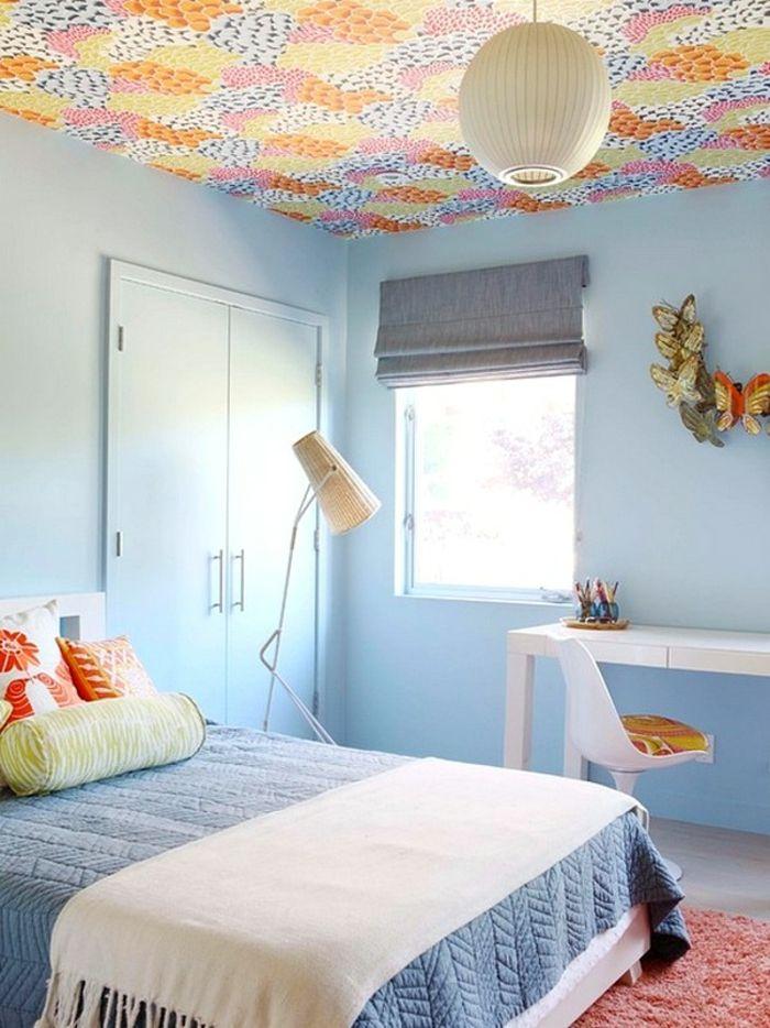 Papier Peint Plafond Osez Experimenter Avec La Deco Interior