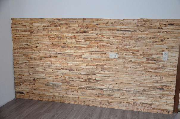Wandvertäfelung aus Zirbenholz Zirbe Vertäfelung