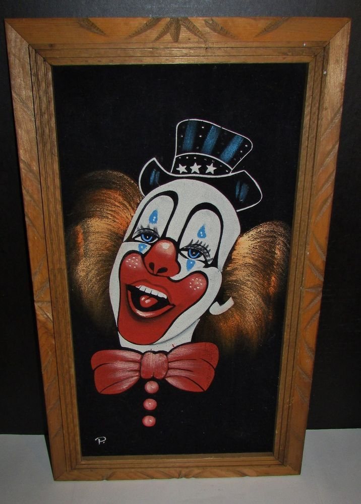 Clowns Painting New Exclusive Collectible Signed Print