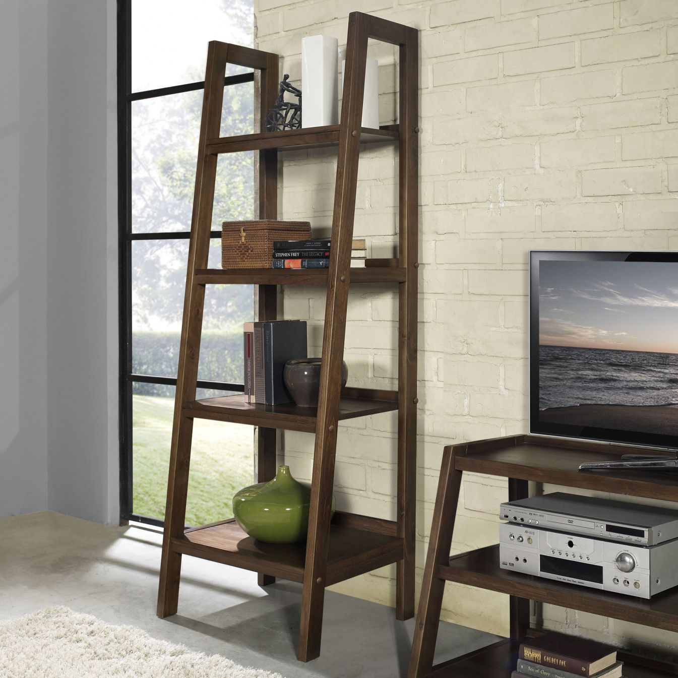 Ladder Style Bookcases