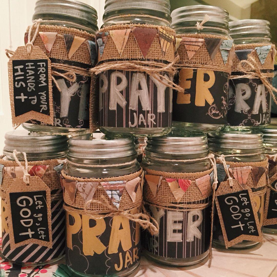 Diy Prayer Jars Prayer Jar Church Crafts Christian Crafts