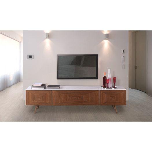 Bellini Modern Living City Tv Stand 75 Wide Allmodern