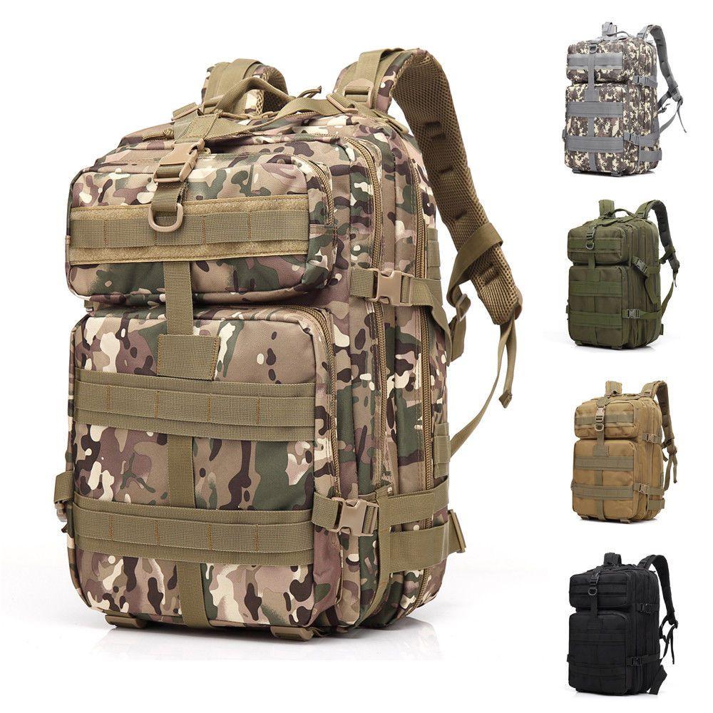 45 L Molle Outdoor Sports Militaire Tactique Sac Camping Randonnée Trekking Sac à dos