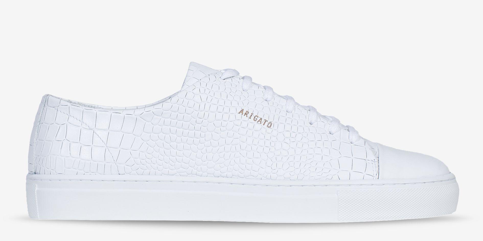 AXEL ARIGATO - Cap-toe Sneaker White