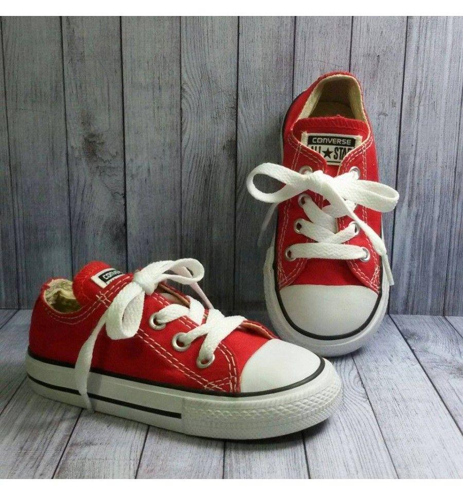 Converse Infant Toddler Classic Red Sepatu Anak Sepatu Anak
