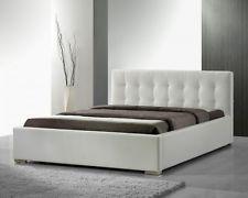 Design Lederbett Polsterbetten Futonbett Leder Bett Ehebett 160x200