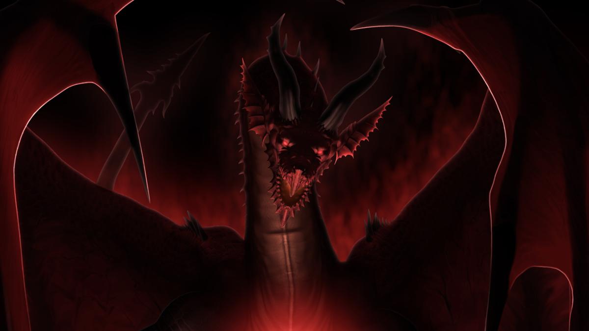 DragonS Dogma Goldene Statue