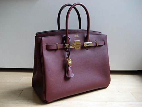 5cb17c1cf5 Birkin ~ plum ~ love the beautiful color