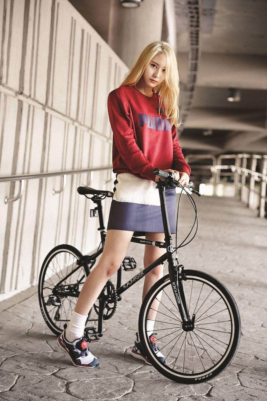 F(x) Krystal Puma sportswear