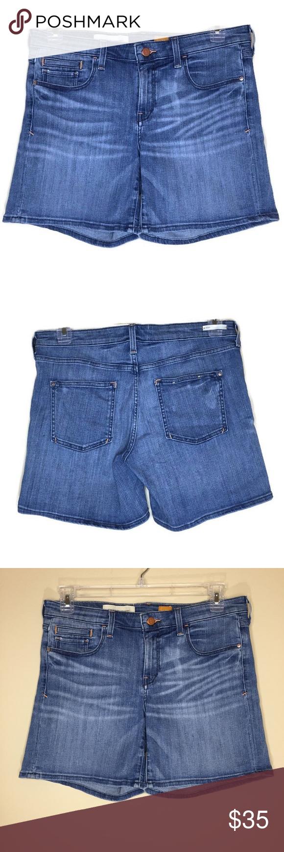 "613d4379df0 Pilcro and the Letterpress Denim Shorts Waist 34 EUC Pilcro and the  Letterpress medium wash denim shorts. Fit/Stet, No. 30. Waist 34, Rise 9"",  Inseam 6""."