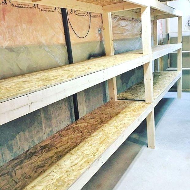 DIY Basement/Garage Storage Shelves… That You… YES You Can