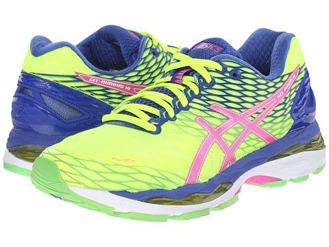 ASICS Gel Nimbus® 18 Women's Size 9 Color: Flash yellowpink