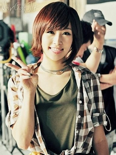 KARA (Ex.Member) - Nicole #니콜 (Jung YongJoo 정용주) 111102 #단발머리 #카라