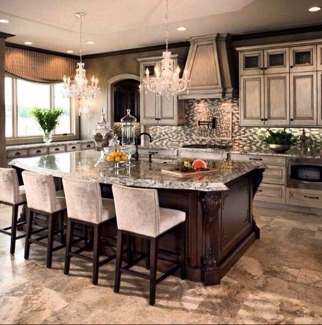 Elegant kitchen accents dream kitchen pinterest for Elegant kitchen design