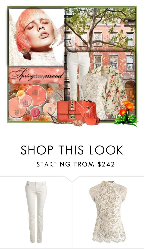 """""""Spring Coral Steps"""" by mrswomen ❤ liked on Polyvore featuring Zadig & Voltaire, Lover and Valentino"""