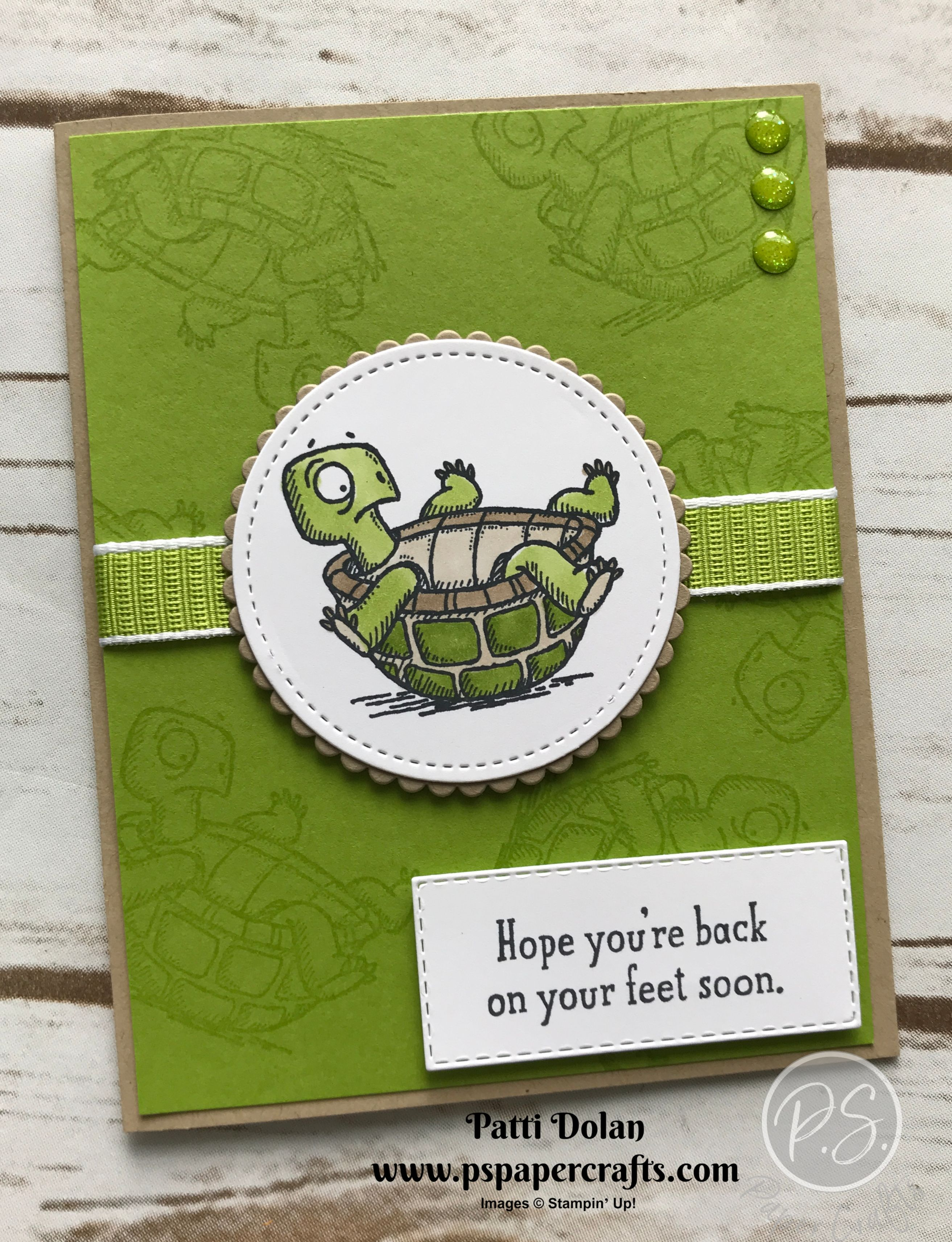 Back On Your Feet - Get Well Card