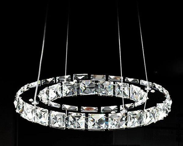 promotion 40cm Raimond Ring Crystal Chandelier lighting Deluxe Led ...