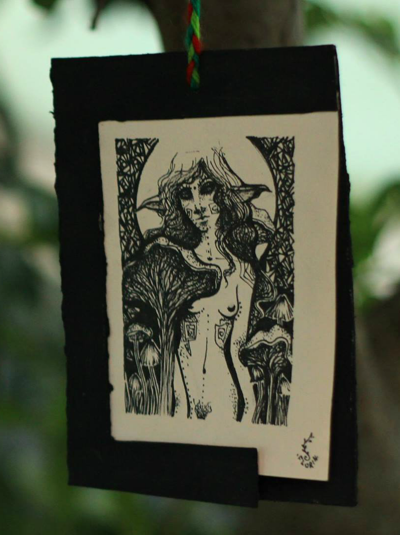 #draw  #blackart #fairyart   #cordulia #line #fineline #organic #plants #fae #faery #mushroom