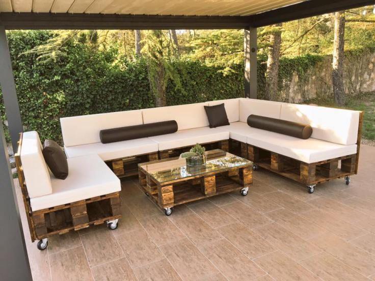 resultado de imagen de muebles con palets