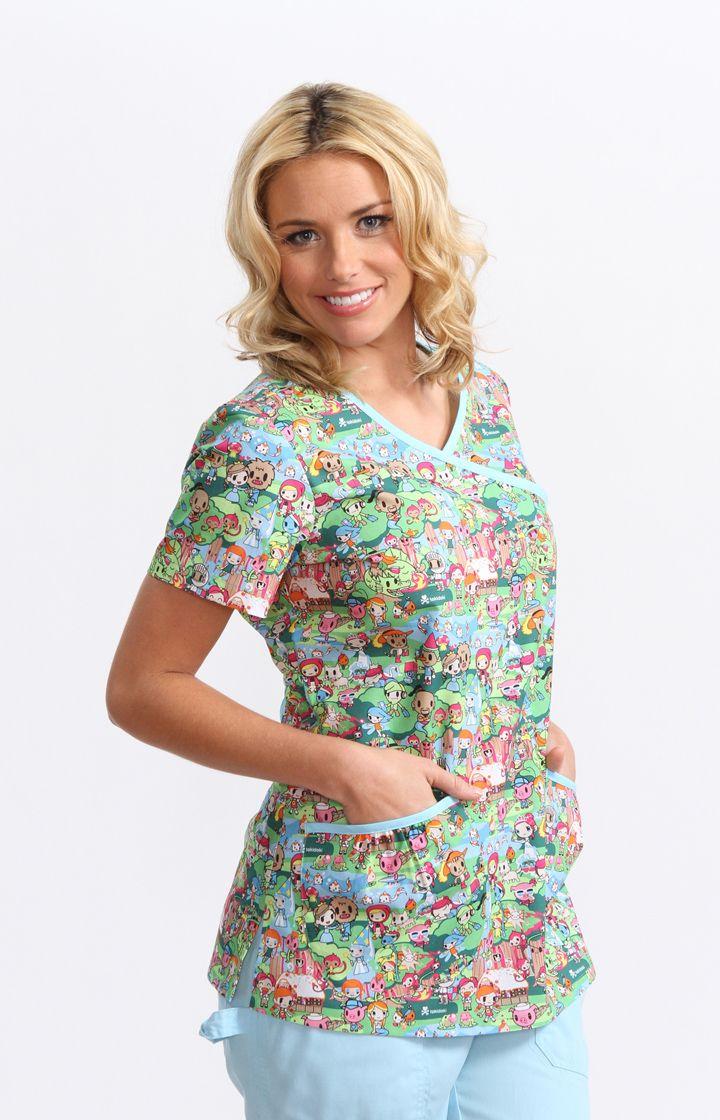 b57e29423e3 nurse patterned uniform - Google Search | Art Licensing ...
