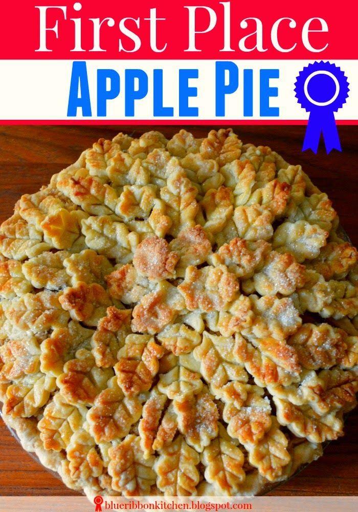 Blue Ribbon Kitchen Cranberry Apple Pie A Three Time