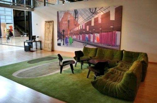 Interiors · pixar living area