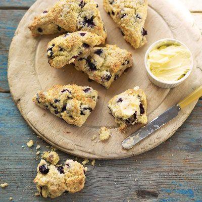 Blueberry Buttermilk Scones Recipe Buttermilk Scone Recipe Food Recipes Food