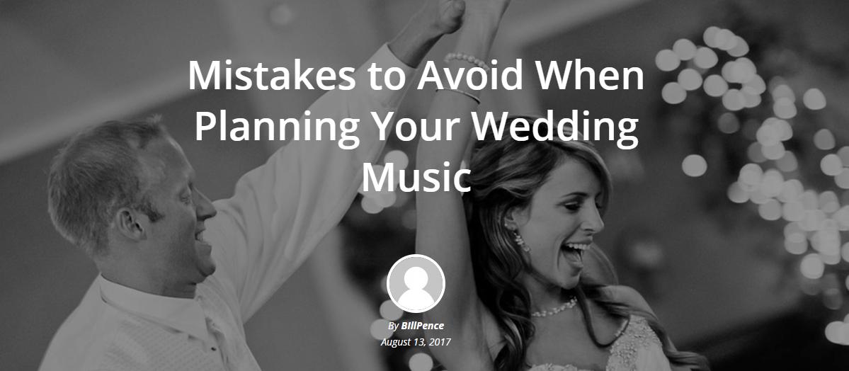 Mistakes to Avoid When Planning Your Wedding Music: http://www.billpencemusic.com/planning-wedding-music-folsom/  #billpence #wedding #folsom #folsomdj #weddingdj #dj #bride #groom  Photo Source: https://pixabay.com/en/wedding-party-dance-bride-groom-1605322/