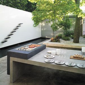 Streamlined bbq by electrolux barbecues outdoor for Bbq kitchen designs