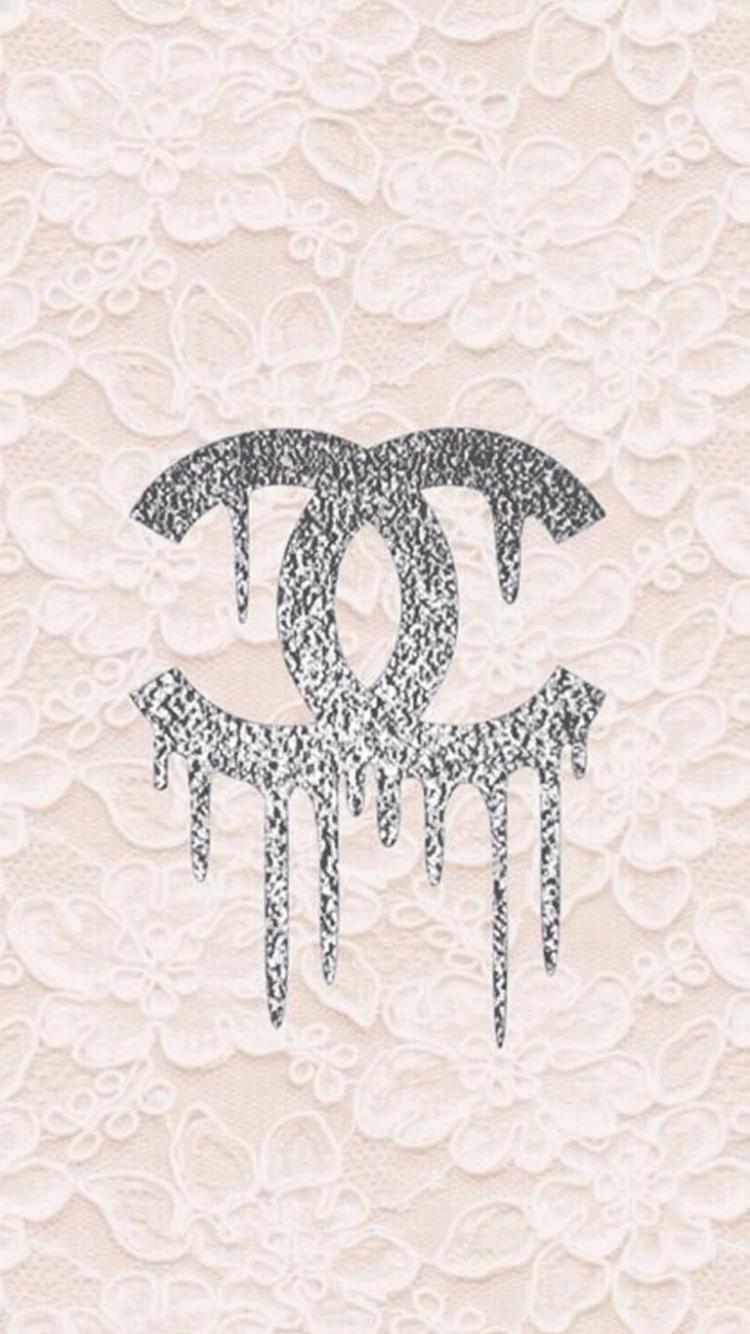 Chanel Logo In 2020 Chanel Wallpapers Pretty Wallpaper Iphone Coco Chanel Wallpaper