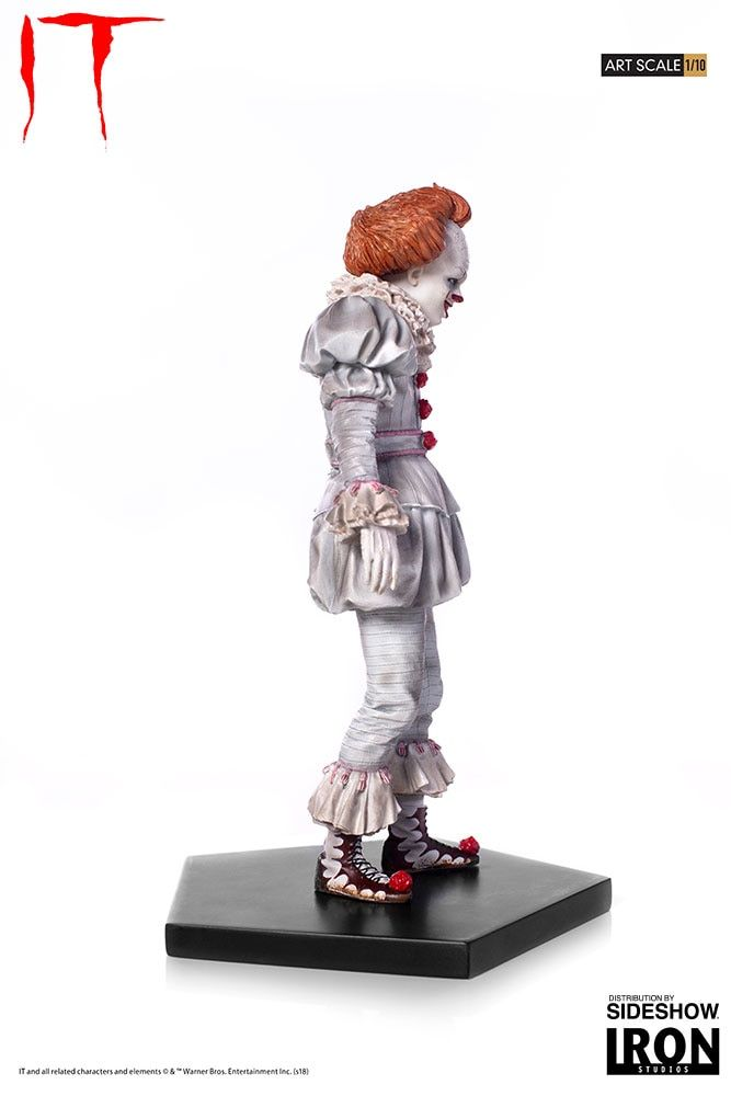It Pennywise Statue by Iron Studios #Affiliate #Statue, #SPONSORED, #Pennywise, #Studios, #Iron